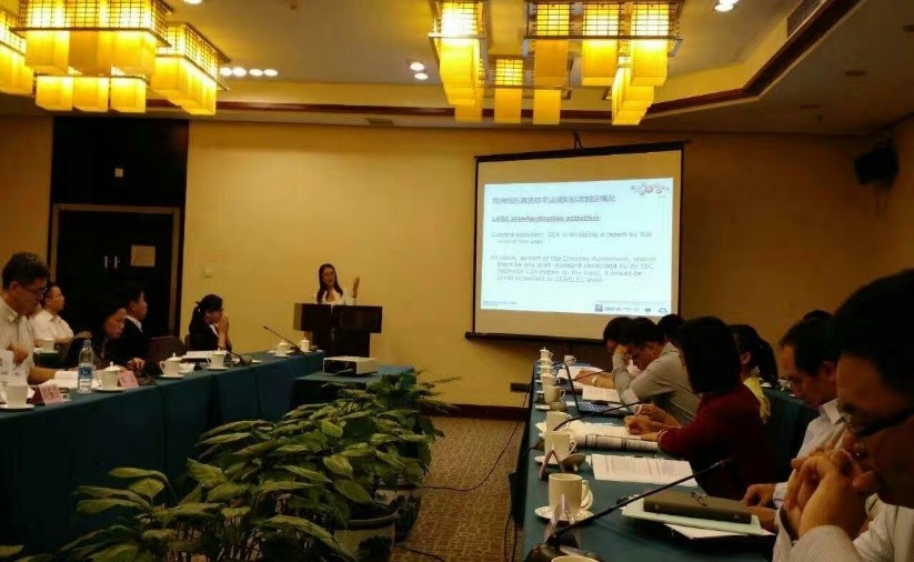 19 September China Electrical Equipment Industrial Association (CEEIA) Seminar on Low Voltage Direct Current (LVDC) in Beijing