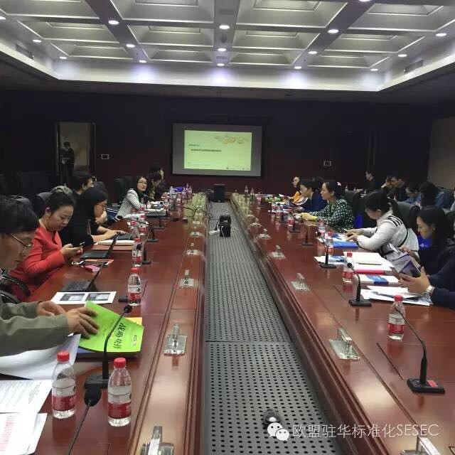 18 October SESEC provided training for Wuhan High-tech Industry representatives on EU standardization