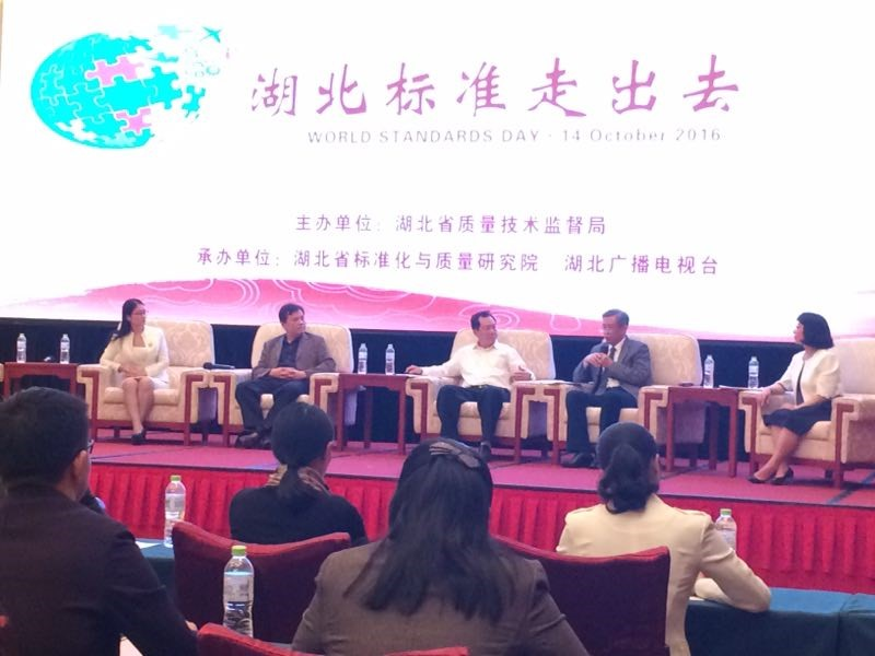 """SESEC participated in the Forum on """"Hubei Enterprises Go Global"""""""