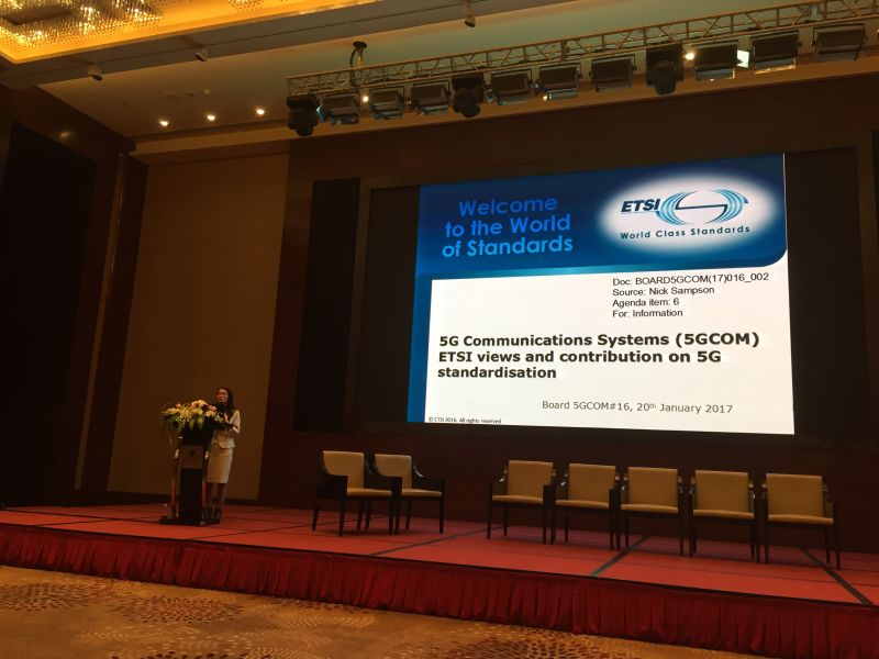 SESEC in the Conference of EU-China Collaboration on IoT and 5G Research