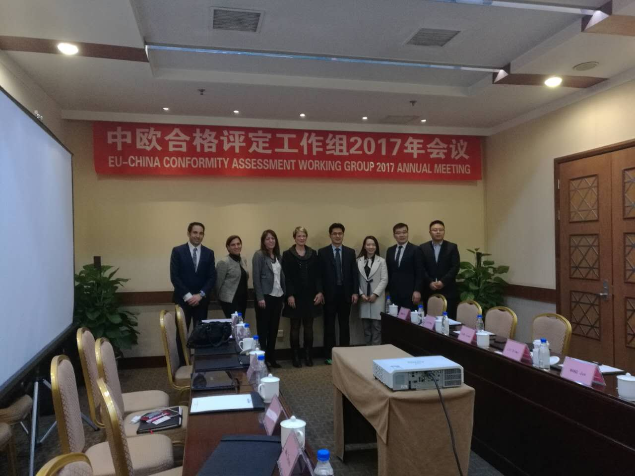 23/11/2017 EU-China conformity assessment working group 2017 meeting